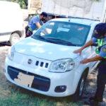Recuperan otro auto robado en un control de Padre Buodo